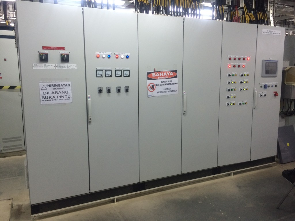 Project References Puretech Engineering Home Wiring Materials Electrical Switchboard Control Panel