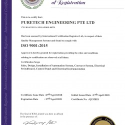 2018 - ISO9001 CERTIFICATE