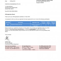 BCA ME15_L6 Approval Letter