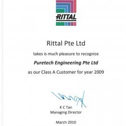 Rittal Pte Ltd 2009