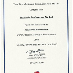 Total Petrochemicals 2006
