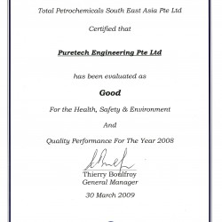 Total Petrochemicals 2008